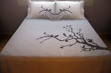tree branch birds duvet cover sheet bedding queen king