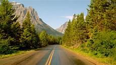 Route De Montagne Glacier National Park Montana Hd