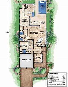 beach house plans for narrow lots bungalow narrow lot house plan narrow lot beach house