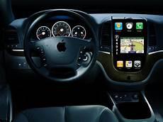 apple veut un tableau de bord tactile dans la voiture