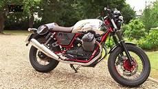 moto guzzi v7 moto guzzi v7 ii racer review visordown road test