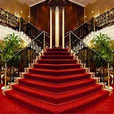 10x10ft grand hotel louge carpet stairs staircase