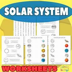 solar system worksheets itsy bitsy fun