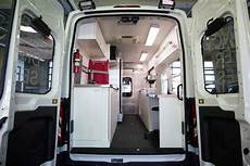 ford donates customized transit to support the