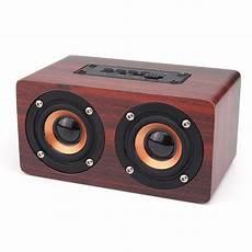 w5 wireless bluetooth dual speaker wooden speaker