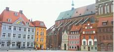Stralsund Blick Auf Den Alten Markt Mit Seinem