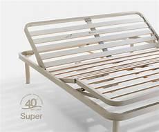 materasso e doghe reti da letto a doghe reti in legno e acciaio dorsal
