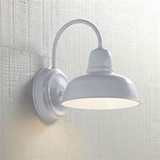 urban barn 11 1 4 quot high white indoor outdoor wall light 13f63 ls plus