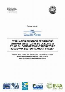 Etude Du Comportement Pdf 201 Valuation Du Stock De Saumons Entrant En Estuaire