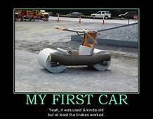 My First Car Funnies  Automotive Humor Jokes