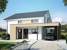 Carport Am Haus Modern - modernes haus evolution 124 v7 mit design carport bien