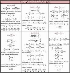 trigonometric equations formulas solving trigonometric equations she loves math