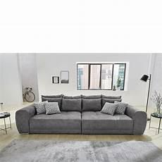 big sofa sam big sofa sam in grau inkl kissen wohnlandschaft