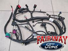 ford wiring harness system 05 07 duty oem ford engine wiring harness 6 0l 11 4 2004 and later build ebay