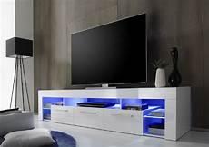 lowboard tv hifi unterteil score wei 223 hochglanz 200 x 44
