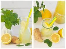 Gesund Durch Den Winter Minz Ingwer Zitronen Wasser
