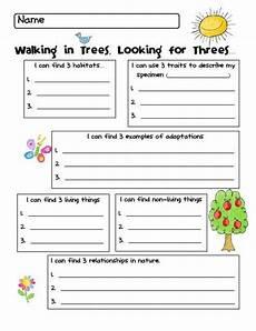kindergarten needs and characters of living things grade 1 needs and characteristics of