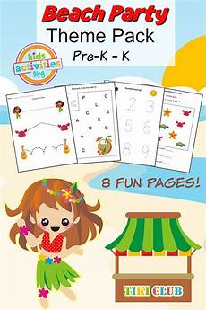 party printable preschool worksheet preschool
