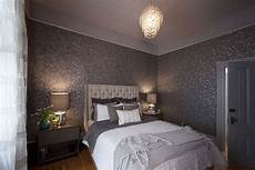 Tapete Schlafzimmer Grau - bedroom wallpaper grey 4 decoration inspiration