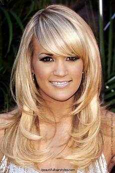 layered hairstyles with bangs trendy hairstyles