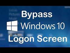 How To Bypass Windows 10 Login Screen Without Password | how to bypass login screen of windows 10 youtube
