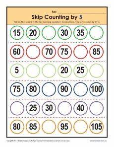 skip counting money worksheets 11954 pin on math