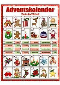 adventskalender lehren deutsche weihnachten