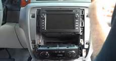 car repair manuals download 2012 chevrolet tahoe instrument cluster how to replace a 2007 2012 chevy chevrolet tahoe head unit with am fm radio 3g wifi bluetooth