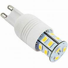 culot g9 led oule 224 culot g9 230 volts 15 led smd type 5730
