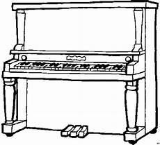 klavier einfach ausmalbild malvorlage musik