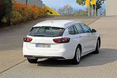 2020 opel insignia facelift makes spyshots debut as