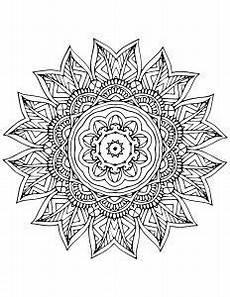 kostenloses ausmalbild indisches mandala 20 viele
