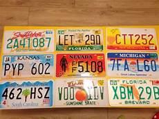Lot De 20 Plaques Immatriculation Usa Original Catawiki