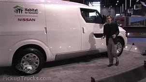 Nissan NV2500 Commercial Van Concept At The 2009 NTEA Work