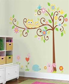 wandtatoo kinderzimmer roommates mega pack wandsticker wandbild baum scroll tree