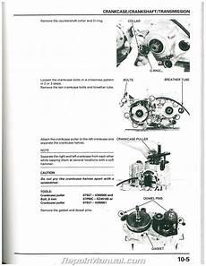 car repair manuals online free 1988 honda cr x transmission control 1997 1998 1999 honda cr250r motorcycle service manual