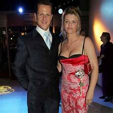 Michael Schumacher S Corinna Places Lucky Charm At