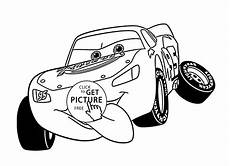 lightning mcqueen cars coloring page for