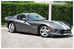 Low Mileage 2002 Silver Metallic Dodge Viper GTS  Rare