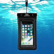 remax waterproof seal bag case diving pouch for mobile phones