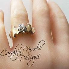 batman engagement ring by carolyn nicole comic book super hero wedding theme pinterest