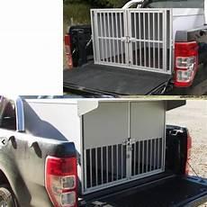 caisse a chien pour 4x4 cage de transport dogbox pour chiens am 233 nagement de up caisses de transport sur mesure