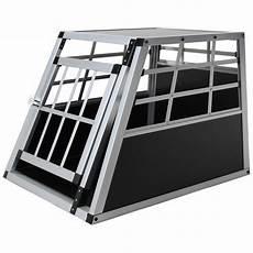 Jalano Hundetransportbox S Auto Gitterbox Kleine Hunde Alu
