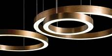 light ring horizontal suspended lights from henge architonic