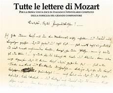 mozart lettere punto d incontro il giornale dell italia in messico l