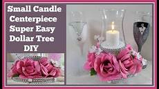 small candle centerpiece dollar tree diy for weddings or