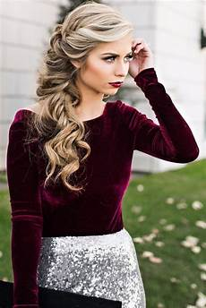 side hairstyles for prom hairstyle ideas for prom gorgeous dramatic look