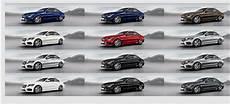 Neue Farben 2017 - ins bild gesetzt alle farben der neuen mercedes c klasse