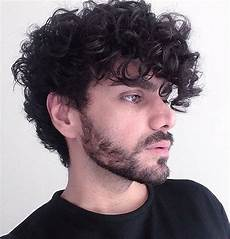 cool haircuts for men with curly hair hairstyle for