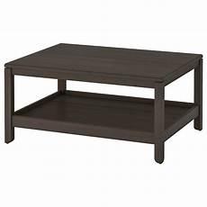 havsta coffee table dark brown ikea